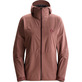 Black Diamond W's Liquid Point Shell Jacket Sandalwood